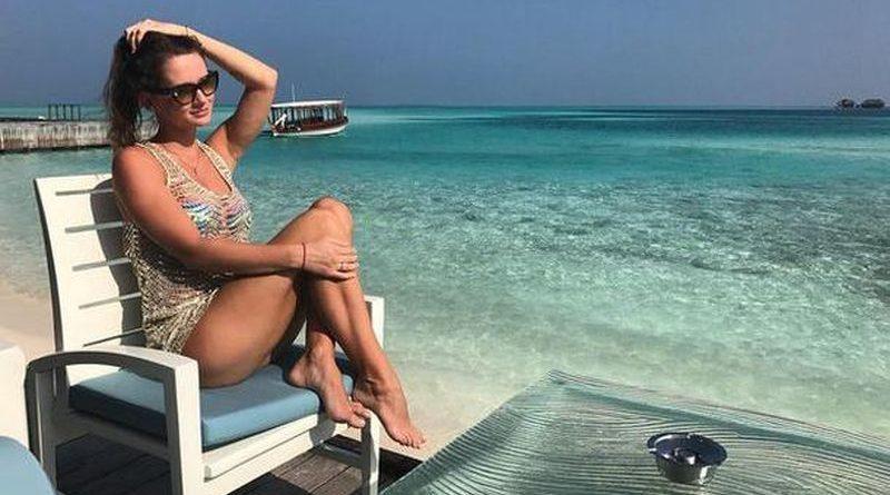 Жена Сидорчука показала, как отдыхает в Турции (Фото) 1